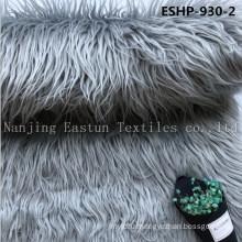 Long Hair Curly Artificial Mogolian Fur Eshp-930-2