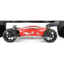 2WD coche eléctrico rc, coche sin cepillo del motor rc coche de radio 2 canales 2.4G