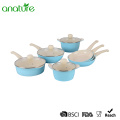 11 Pieces Die Cast Non Stick Cookware Sets