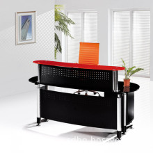 2016  glass top office modern reception desk for sale