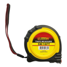 5m Steel Tape Measure with Nylon Coated Dual Blade and Magnetic Hook