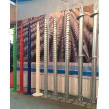 Gegalvaniseerde Ground Screws Foundation