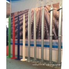 Erdungsschraube für temporäre Gebäude