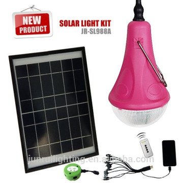 CE brevet & portable multifonctions LED camping lampe solaire