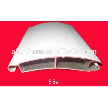 Perfil de aluminio más bajo de China para las puertas y las ventanas del obturador del enrollador