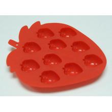 Houseware produce bandeja de hielo de silicona para chocolate