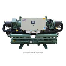 Professional Chemical Open Type Industrial Screw Water Chiller Plant