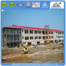 Affordable security steel prefabricated hotel building