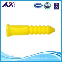 Ribbed Plastic Anchor Wall Plug