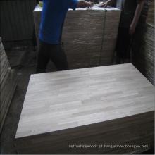 Bancada em madeira de freixo para móveis