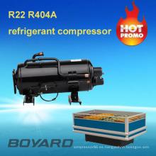 congelador de ráfaga de boyard CE rohs unidad condensadora con r22 r404a compresor de frigorífico para la refrigeración de camiones