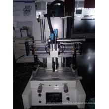 Impresora de pantalla pequeña color de un solo color y placa de la página tipo máquina de impresión de pantalla