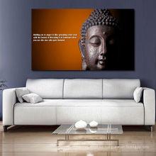2013 nueva pintura barata de la colección de Buda en lona