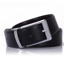 Reversible leather belts male waist belt