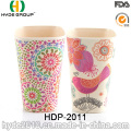 2016 Hot Sales Pretty Design Bamboo Fiber Cup (HDP-2011)