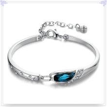 Fashion Bangle Crystal Jewelry Bijoux en argent sterling 925 (SL0029)