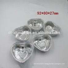 Factory supply heart shaped cupcakes pan