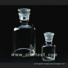 Glass Material Narrow Mouth Reagent Bottles (4031-0030)