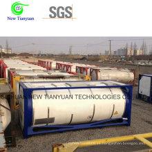 Contenedor de tanque criogénico LNG con capacidad de 24.5m3