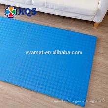 La chaleur pas chère colorée a pressé des tapis de mousse d'eva a passé le test EN71 pour la gymnastique
