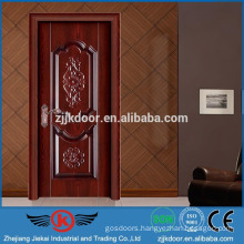 JK-SW9660D Turkish style safety wooden doors design
