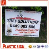 Corrugated (twinwall) polypropylene printing sign