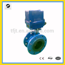 CTF-010 AC220V Cast Iron DN100 Flange Electric Valve for water treatment auto control project