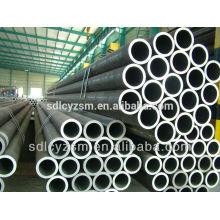 Tubo de acero DIN1629 St52 utilizado para soportes y otros