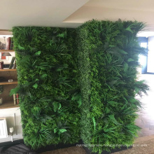 China wholesale synthetic vertical hedge garden foliage for interior decoration