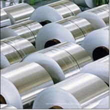Bobinas de alumínio para estampagem e extrusão