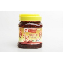Fresh pepper Red oil bean paste 700 g
