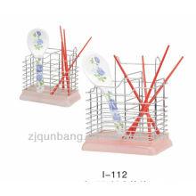 Metall- oder Edelstahlstäbchen stehen, Mehrküchenstäbchengestell