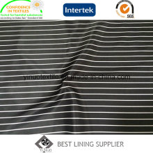 100% Polyester Stripe Pattern Print Lining