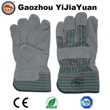 En 388 Leather Working Mechanical Cheap Safety Gloves