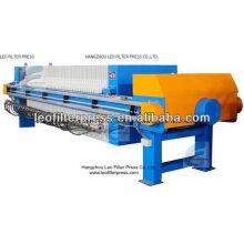Filtro Leo Prensa de filtro de membrana filtrante de azúcar automática