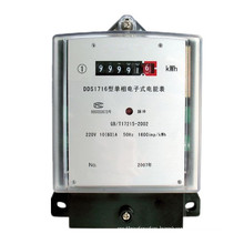 Three-Phase Intelligent Electric Energy Meter for Remote Rural Areas