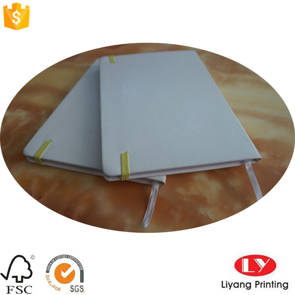 White PU notebook6
