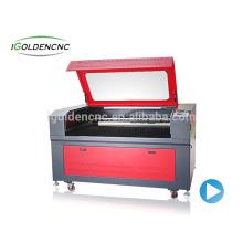 Máquina de corte do laser da tela de matéria têxtil 1390 130w150w