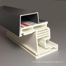 Aluminiumbeschichtetes PVC-Profil