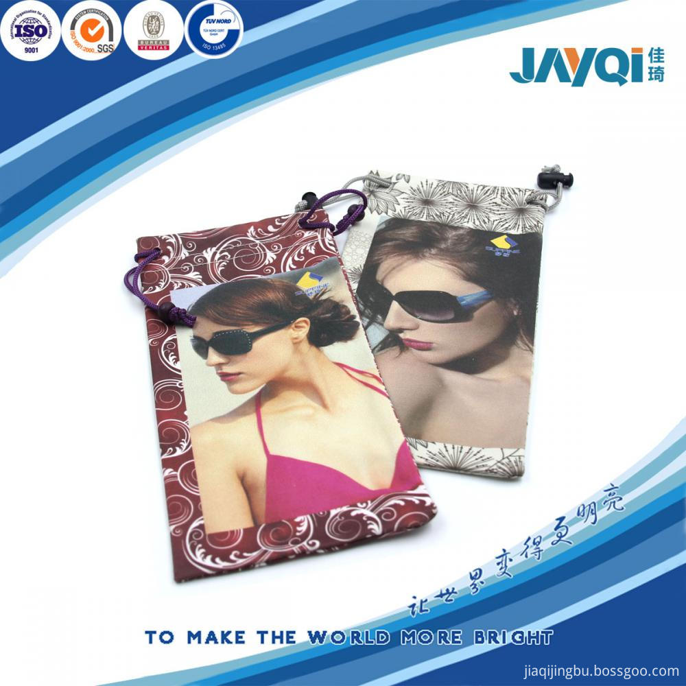 100% Polyester 240gsm Sunglass Pouch