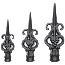 Ornamental Decoration Iron Fence Lanza cabezas