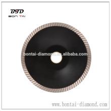 Disco de corte cóncavo de granito de 150 mm