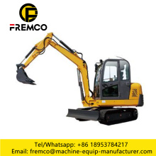 Medium-Size Excavator with 0.8-0.93m3 Capacity Bucket