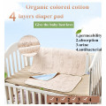 Four Layer Bamboo and Organic Cotton Waterproof Pad for Baby