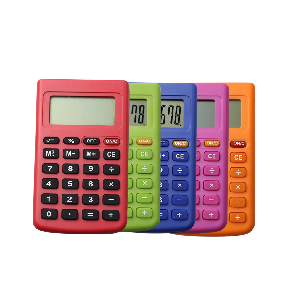 School Stationery Calculadora de bolsillo encantadora de 8 dígitos