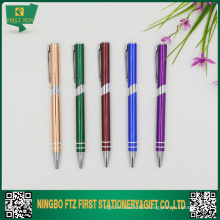 Aluminum Thin Promotional Pen Free