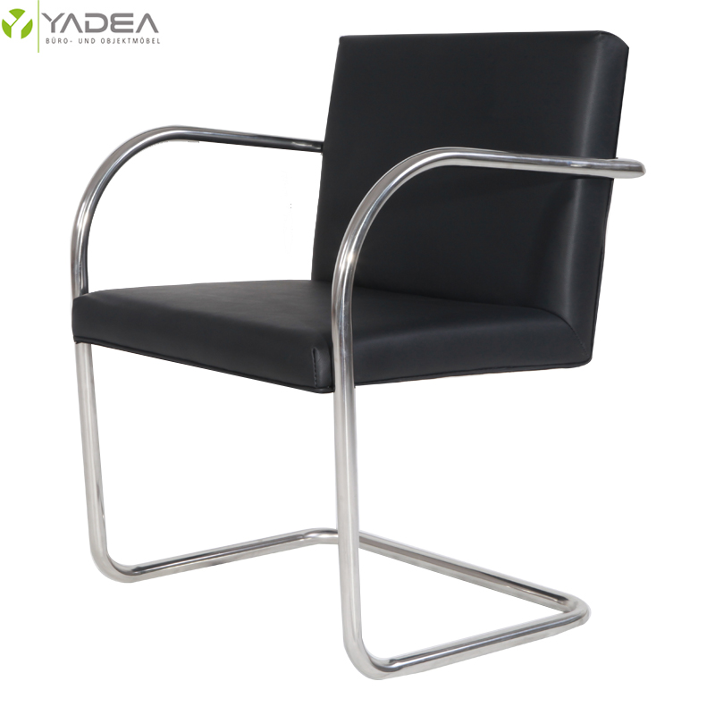 black mies van der rohe brno chair
