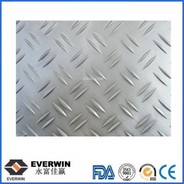 H12/H22 500-9000 Length Aluminium Checkered Plate Prices