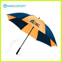 Paraguas de golf al aire libre de encargo de la marca del logotipo para la promoción