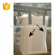 PP woven jumbo bag / bulk bag with Plasic bag inside